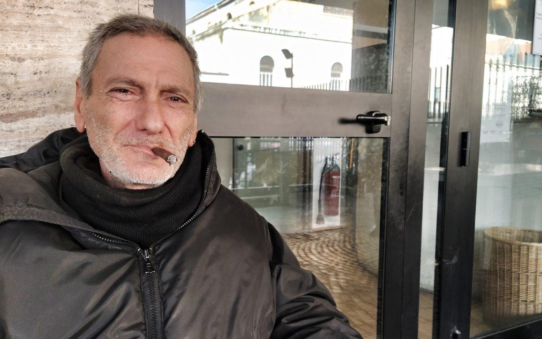 Enrico, la sua storia tra l'Ecuador e la Stazione Termini