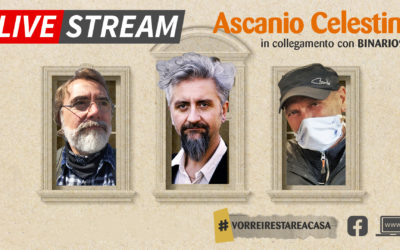 Casa, relazioni, affettività: un live stream con Ascanio Celestini per Binario 95