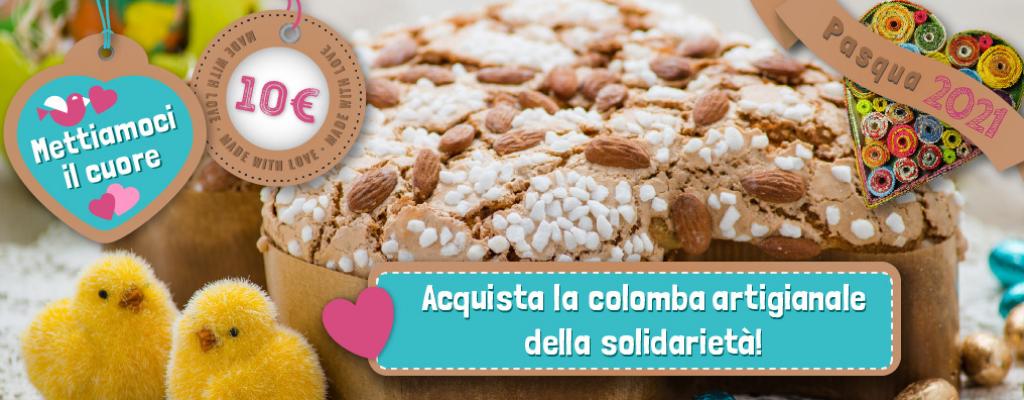 La colomba pasquale della solidarietà: una raccolta fondi per Binario 95